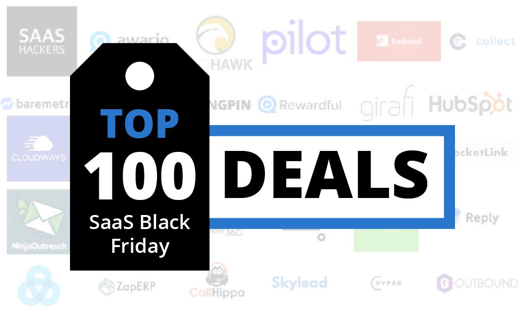 2019 Mega List Of 150 Saas Black Friday Deals