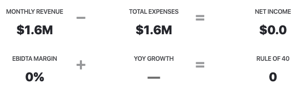 Typeform revenue vs expenses 2020